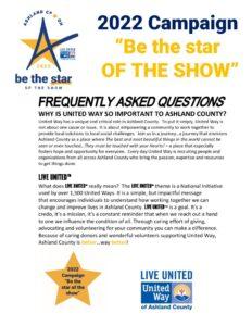 thumbnail of Campaign FAQ's